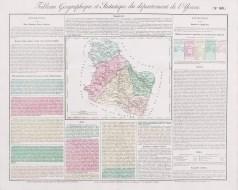 Carte originale de l'Yonne