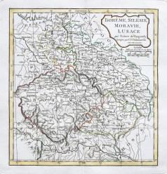 Original antique map - Allemagne - Gravure ancienne