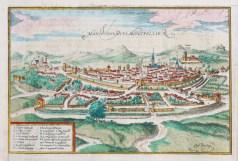 Gravure ancienne de Montpellier