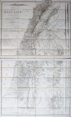 carte ancienne de la terre sainte