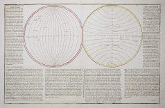 Carte géographique ancienne de la Terre - Antique map