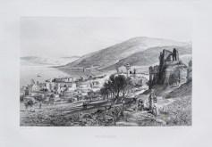 Gravure ancienne - Tibériade