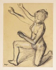 Gravure ancienne - DEGAS Edgar - Danse - antique print