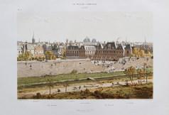 Gravure ancienne du Palais Cardinal