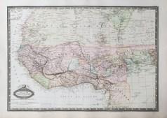 Carte générale de l'Afrique Occidentale et Centrale