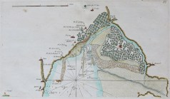 Carte marine ancienne de la baie de Bourgneuf