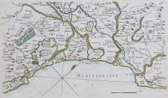 Carte marine ancienne des environs de Port-Vendres