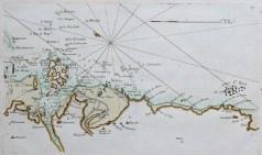 Carte marine ancienne de l'Ile de Bréhat