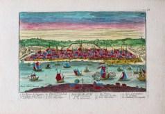 Gravure ancienne de Bordeaux
