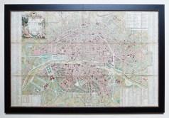 Plan ancien de la ville et Faubourg de Paris