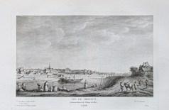 Gravure ancienne de Chaillot et Passy