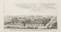 Gravure ancienne du Château de Pont-sur-Seine