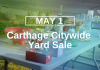 Carthage Citywide Yard Sale