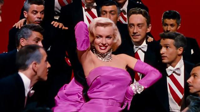 Gentlemen Prefer Blondes + COVER