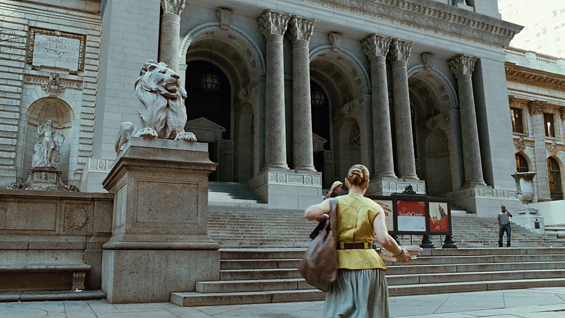 Carrie Bradshaw @ New York Public Library