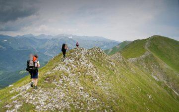 Pe creastă / Creasta Oslei, Oslea, Muntii Valcan, Gorj, Hunedoara