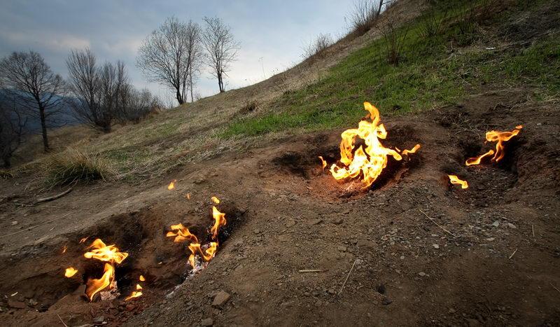 Focurile vii de la Terca / Lopatari, Buzau
