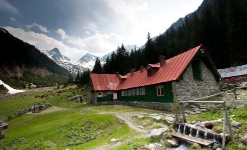 Cabana Sâmbata (Valea Sâmbetei) si Valea Sâmbetei, Muntii Fagaras