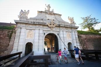 Alba Iulia - Cetatea Alba Carolina - Poarta a III-a