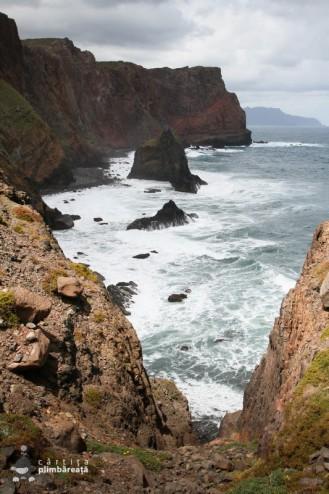 Spectacolul valurilor - peninsula Sao Lourenco