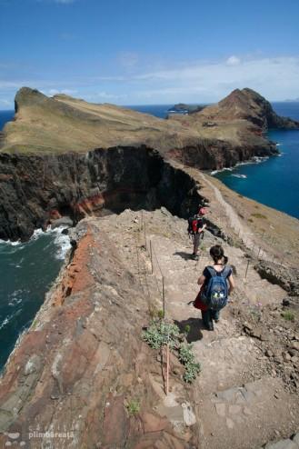 Golf pe stanga, golf pe dreapta - Madeira - Peninsula Sao Laurenco