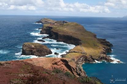 Extremitatea estica a insulei - Peisaj superb si trasee sigure - Madeira - Peninsula Sao Laurenco