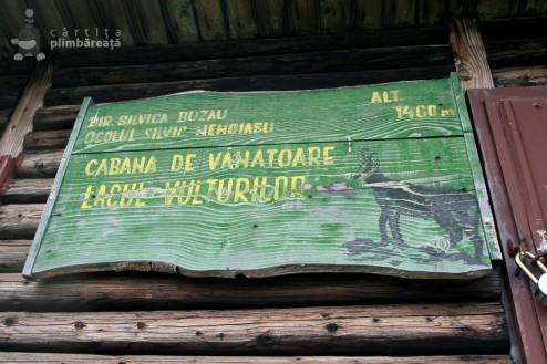 Cabana de vanatoare Lacul Vulturilor si loc de pus cortul