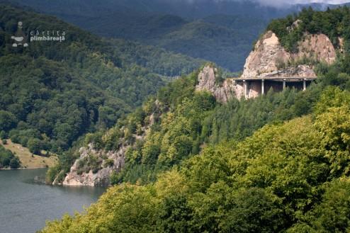 Lacul de acumulare Siriu si Viaductul Teherau, Valea Buzaului