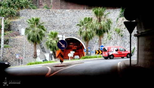 Tunel - intersectie - tunel - viaduct