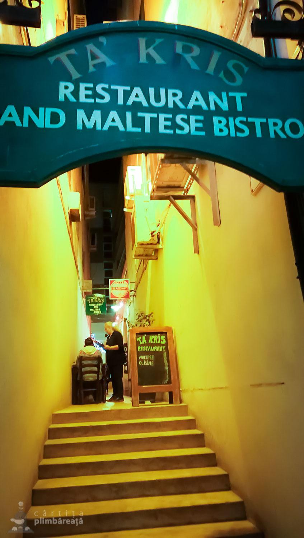 Ta'Kris - restaurant cu specific maltez
