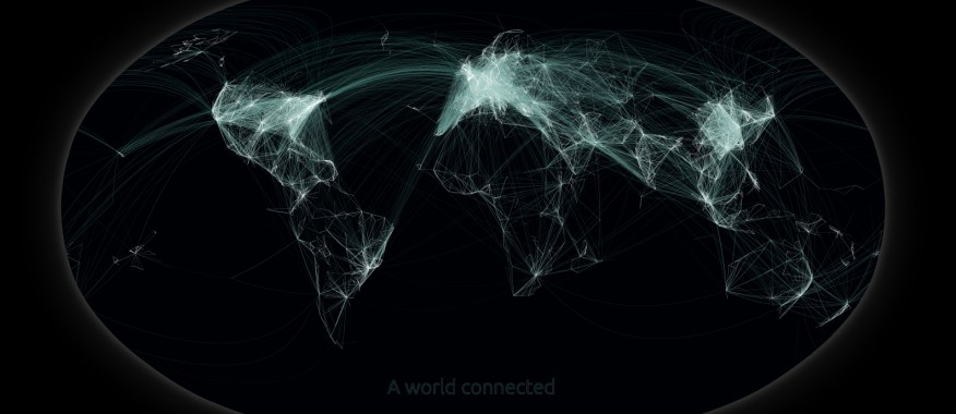 A world connected by me