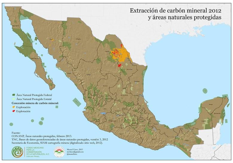 Extracción de carbón mineral (clic para ver más grande)