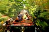 Viatjant en tren