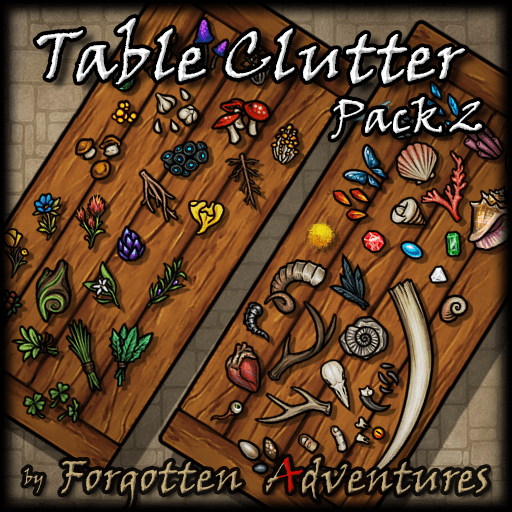 Table Clutter Pack 2