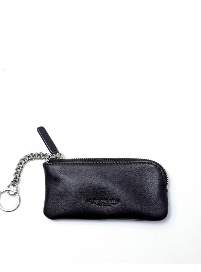 Spalding & Bros - New York - Portachiavi con portamonete Nero - Cartoleria Rossi Mantova