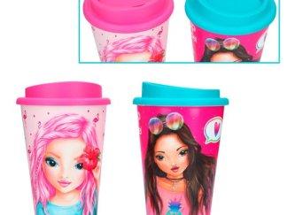 tazza termica rosa