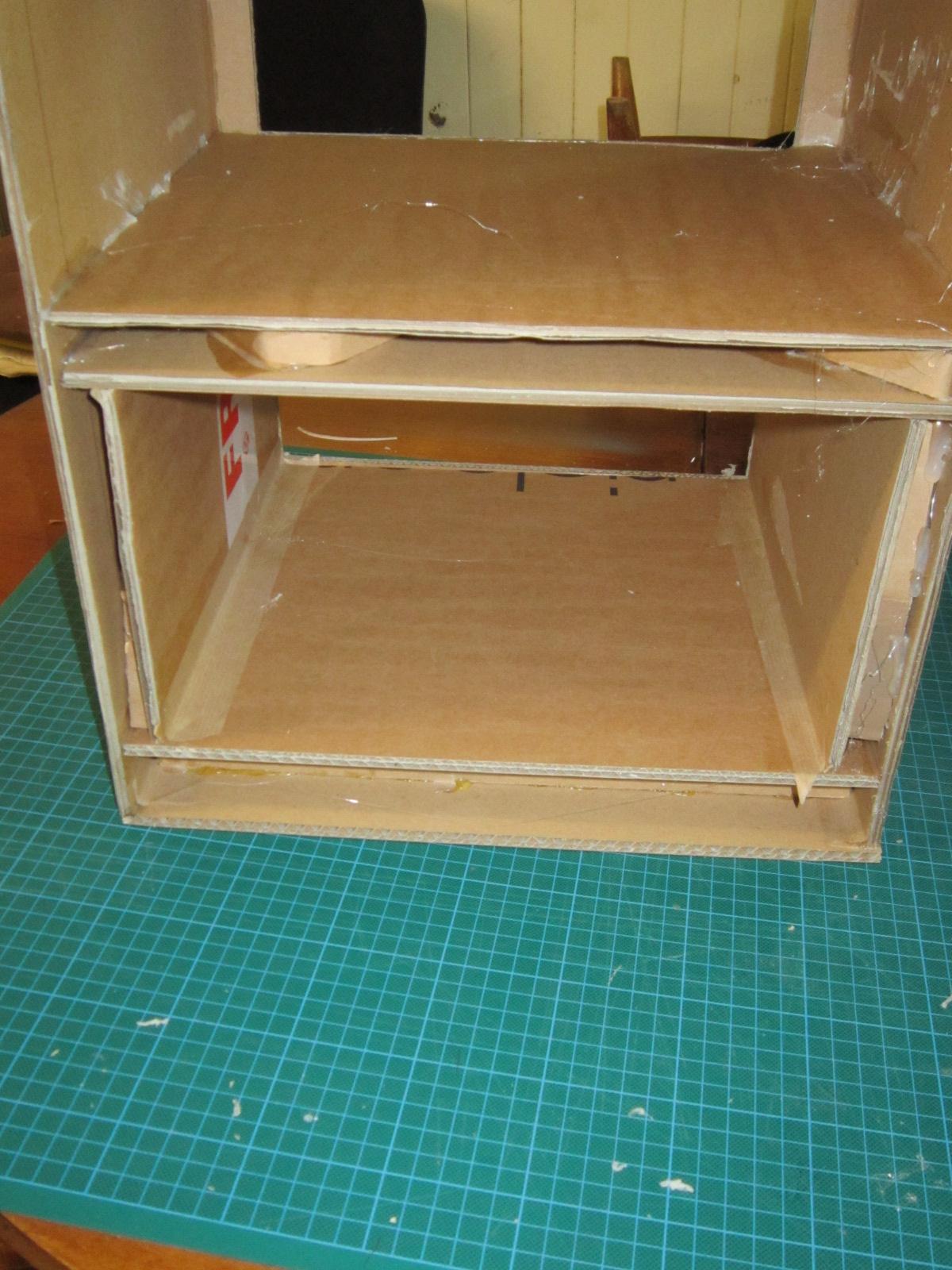 les cartons de sophie les bases du meuble en carton