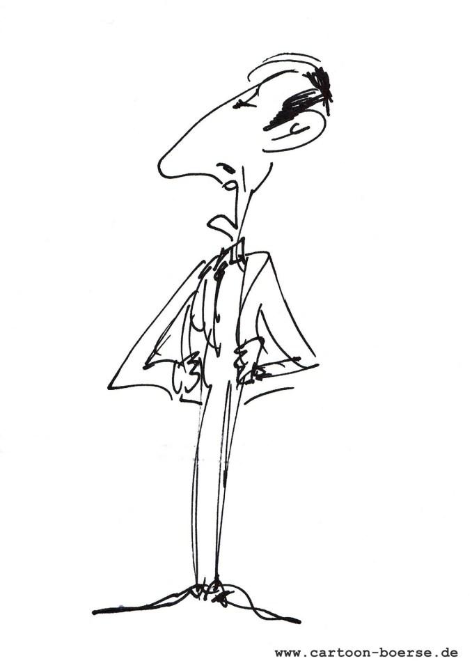 karikatur für hochzeitszeitung