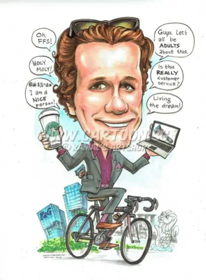 2016-06-23-Caricature-singapore-Bicycle