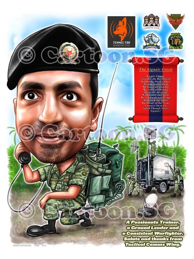 20190216-Caricature-Singapore-digital-SAF-Signal-vehicle-army-uniform