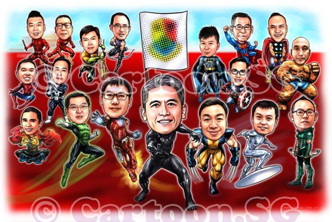 Team Superhero