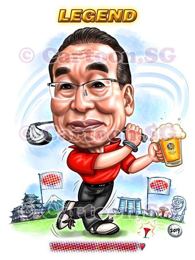 20190419-Caricature-Singapore-digital-golf-japanese-boss-TFSS