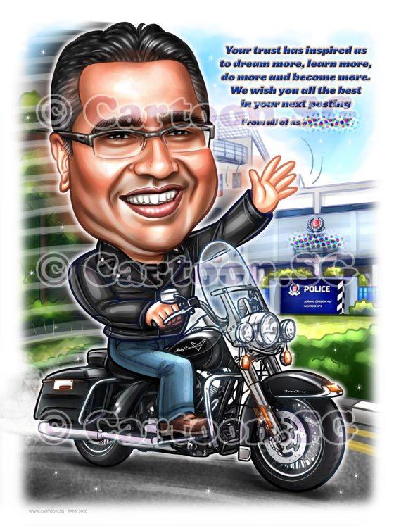 harley davidson motor rider black jacket police hq