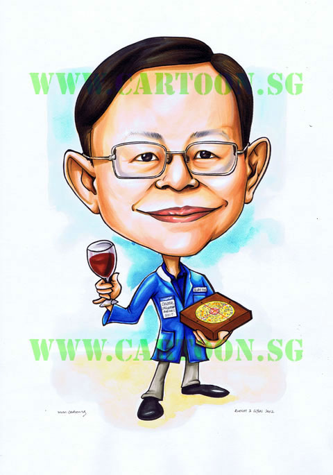 Caricature Gift for Fengshi Master