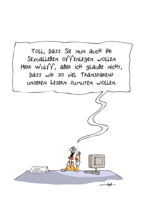 Thomas Luft, Cartoon, Lustig, Sexualleben