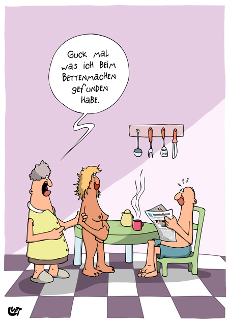 Thomas Luft, Cartoon, Lustig, Gefunden