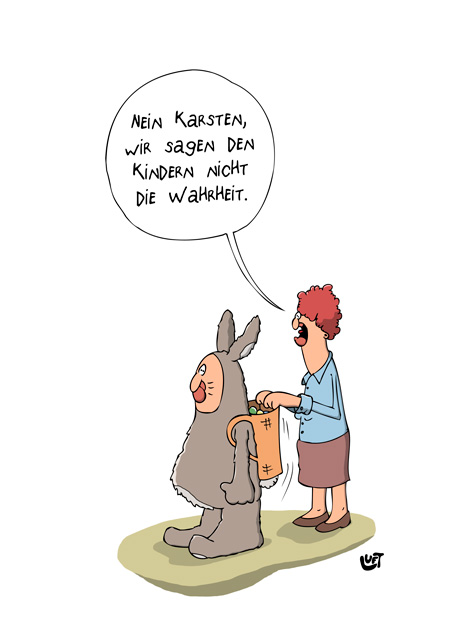Thomas Luft, Cartoon, Lustig, Wahrheit