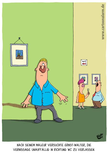 Thomas Luft, Cartoon, Lustig, Peinlich