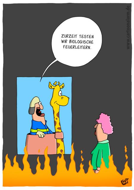 Thomas Luft, Cartoon, Lustig, Biotechnik