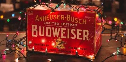 Budweiser Holiday Marketing example